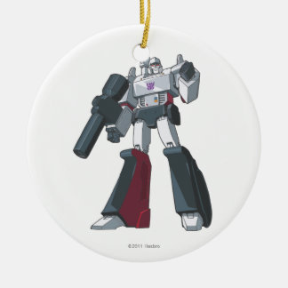 Megatron 1 Double-Sided ceramic round christmas ornament