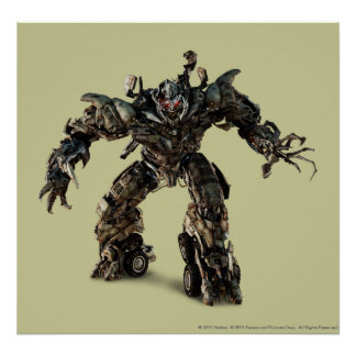 Megatron CGI 1 Poster