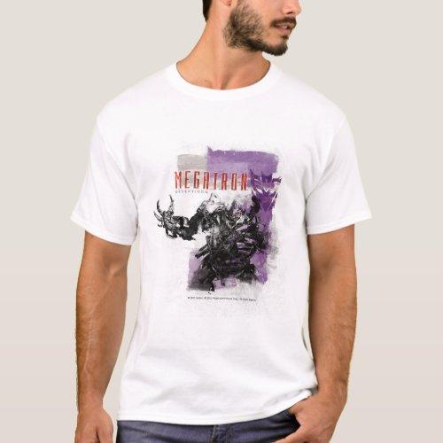 Megatron Decepticon Badge T_Shirt