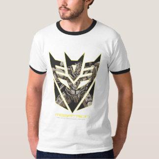 Megatron en el escudo de Decepticon Playera