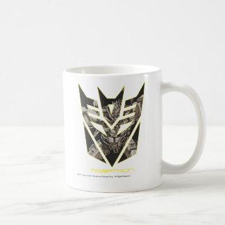 Megatron en el escudo de Decepticon Taza De Café