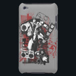 "Megatron Grunge Collage Barely There iPod Case<br><div class=""desc"">Transformers: Generation 1 Graphic Badges</div>"