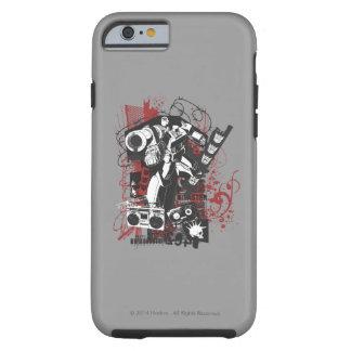 Megatron Grunge Collage Tough iPhone 6 Case