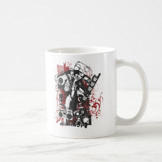Megatron Grunge Collage Coffee Mug