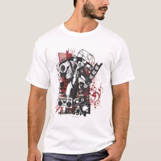 Megatron Grunge Collage T-Shirt