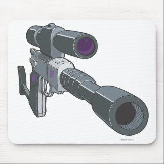 Megatron Gun Mode Mouse Pad
