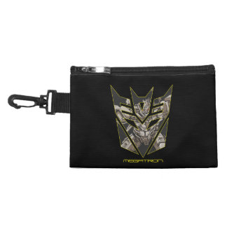Megatron in Decepticon Shield Accessory Bag