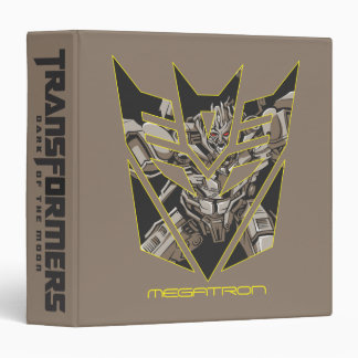 Megatron in Decepticon Shield Binder