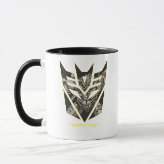Megatron in Decepticon Shield Mug