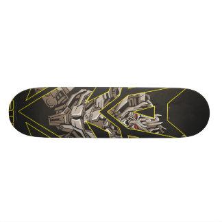 Megatron in Decepticon Shield Skateboard Deck