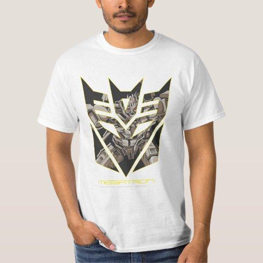Megatron in Decepticon Shield T-Shirt