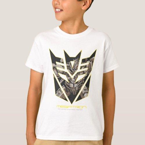 Megatron in Decepticon Shield T_Shirt