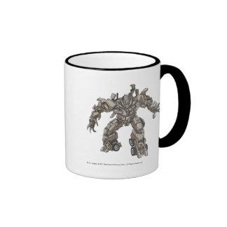 Megatron Line Art 1 Ringer Mug