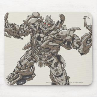 Megatron Line Art 2 Mouse Pad