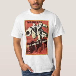 Megatron - paz con tiranía camisas