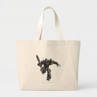 Megatron Sketch 2 Large Tote Bag