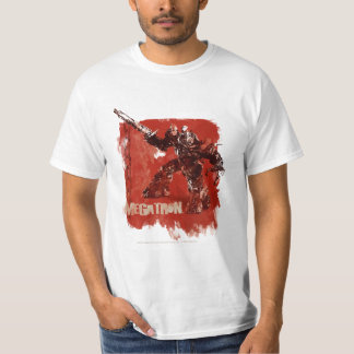 Megatron Stylized Badge Red 2 T-Shirt