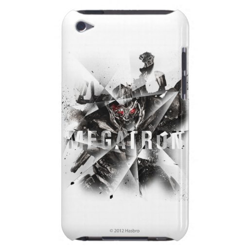 Megatron Stylized geométrico Case-Mate iPod Touch Protector