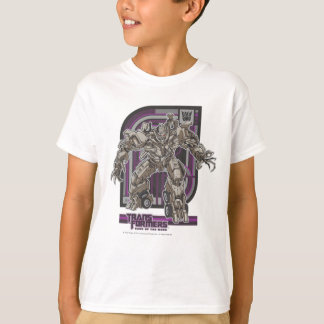 Megatron TF3 Badge Purple/Grey T-Shirt