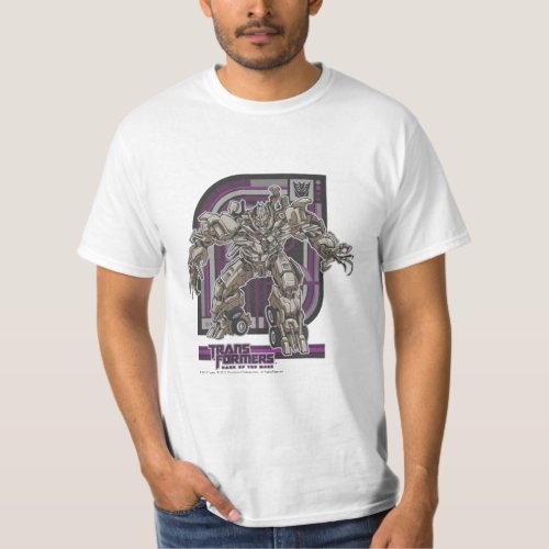 Megatron TF3 Badge PurpleGrey T_Shirt