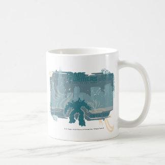 Megatron TF3 Urban Teal Badge Coffee Mug