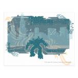 Megatron TF3 Urban Teal Badge Postcard