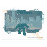 Megatron TF3 Urban Teal Badge Postcards