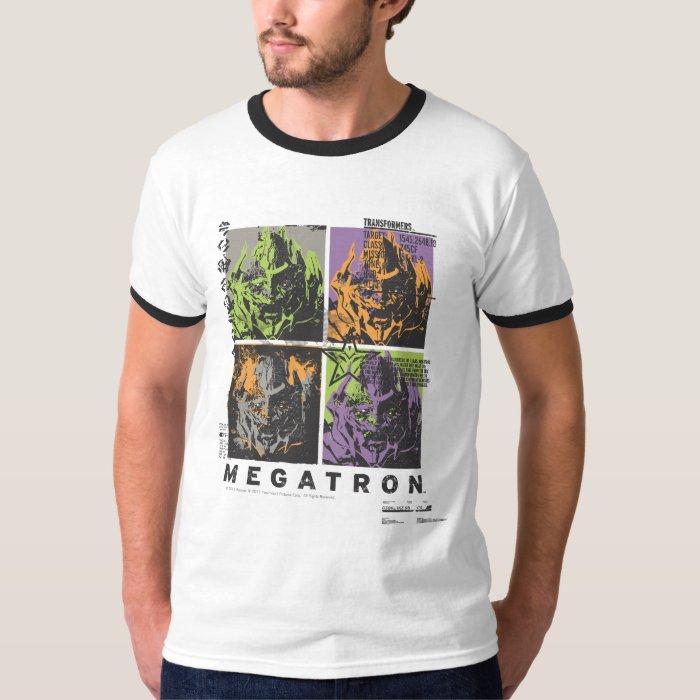 Megatron Wanted Poster T-Shirt