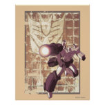 Megatron - Weathered Brick Wall Posters