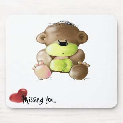 cute miss you images. bear - Missing you Mouse