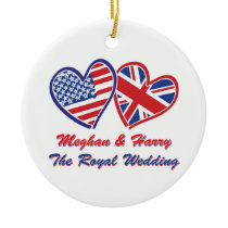 Meghan and Harry The Royal Wedding Ceramic Ornament