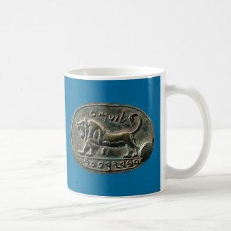Megiddo Seal Classic White Coffee Mug