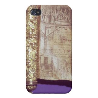 Megillah in a silver case, Vienna, c.1715 iPhone 4/4S Cover