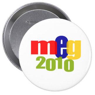 Megohmio en 2010 pin redondo de 4 pulgadas