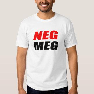 MEGOHMIO NEGATIVO REMERA