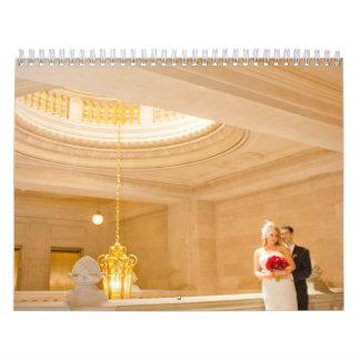 Megohmio y calendario del boda de Jeremy