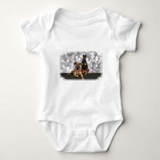 Megyan Doberman - Berkeley Mastiff X Baby Bodysuit