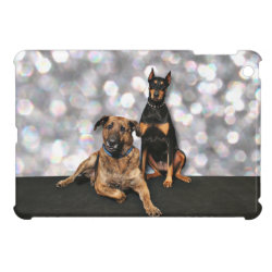 Megyan Doberman - Berkeley Mastiff X iPad Mini Covers