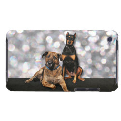 Case-Mate iPod Touch Barely There Case with Mastiff Phone Cases design