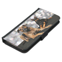 Galaxy S5 Wallet Case with Mastiff Phone Cases design