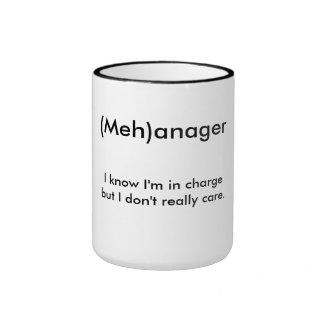 (Meh)anager Ringer Mug