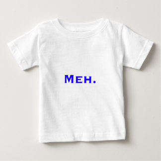 Meh. Black Blue Red Baby T-Shirt