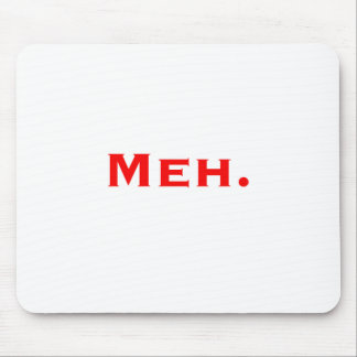 Meh. Black Blue Red Mouse Pad