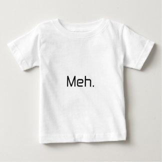 Meh. black gray blue baby T-Shirt