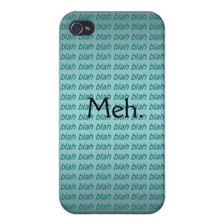 Meh. (blah blah blah) iPhone Case