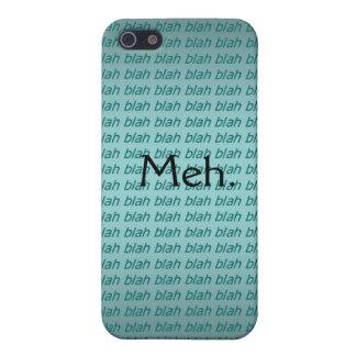 Meh. (blah blah blah) iPhone Case iPhone 5 Cases