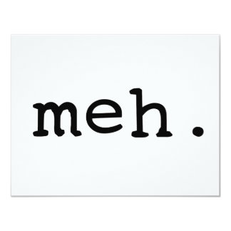 Meh. Card