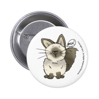 Meh Cat Button