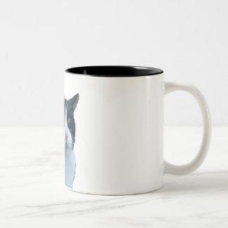 """Meh"" cat Coffee Mug"