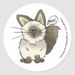Meh Cat Stickers